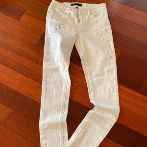 Juicy white jeans
